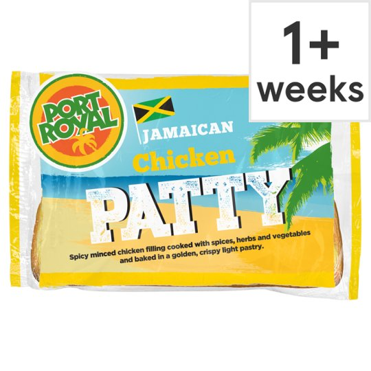 Port Royal Chicken Jamaican Patty 140G