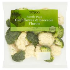 Tesco Cauliflower And Broccoli 680G