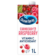 Ocean Spray Cranberry And Raspberry Juice Drink 1 Litre