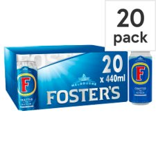Fosters Lager 20 X 440Ml Cans