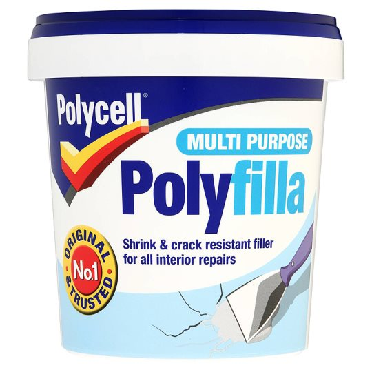 Polycell Multi Purpose Polyfilla 1Kg
