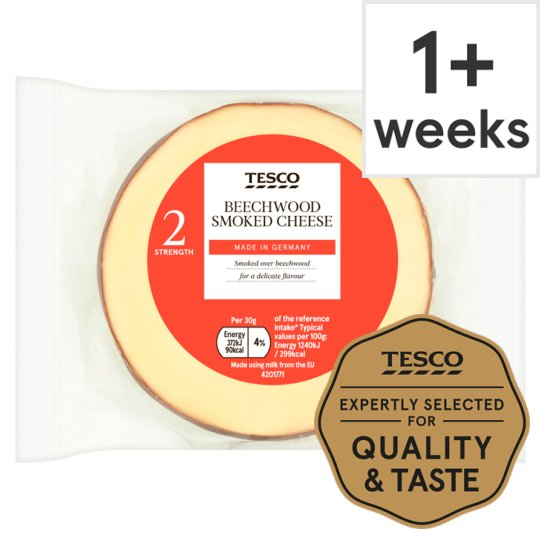 Tesco German Smoked Cheese 150G