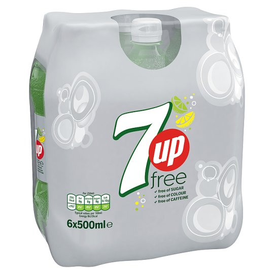 7Up Free 6 Pack 500Ml