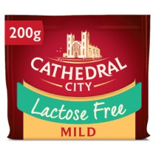 Cathedral City Lactose Free Mild Cheddar 200G