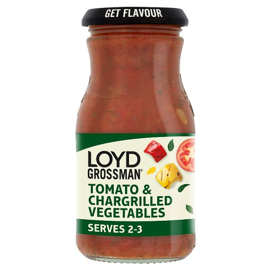 Loyd Grossman Tomato Chargrilled Vegetable Pasta Sauce 350G