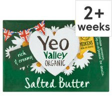 Yeo Valley Organic Salted Block Butter 250G