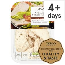 Tesco Flamegrilled Cooked Chicken Breast Chunks 180G