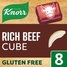 Knorr Rich Beef Stock Cubes 80G