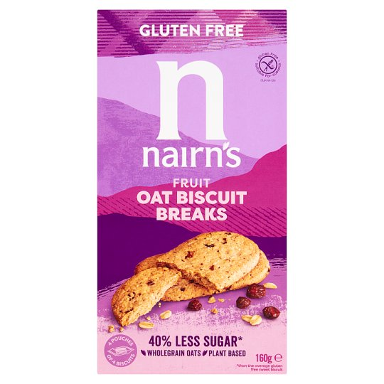 Nairns Oats And Fruit Biscuits 160G