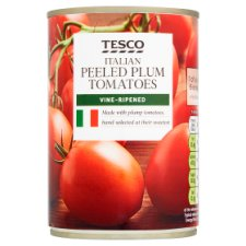 Tesco Peeled Plum Tomatoes 400G