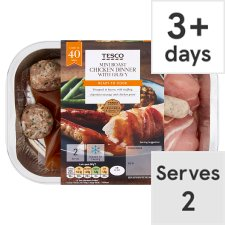Tesco Mini Roast Chicken Dinner With Gravy 438G