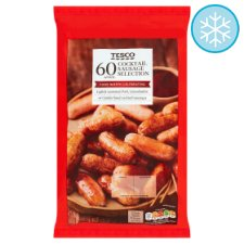 Tesco 60 Cocktail Sausage Selection 720G