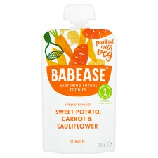Babease Sweet Potato Carrot And Cauliflower 100G