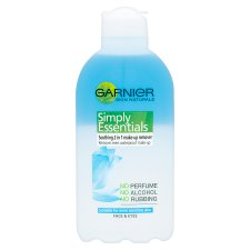 Garnier Skin Naturals Soothing 2-In-1 Make Up Remover 200Ml