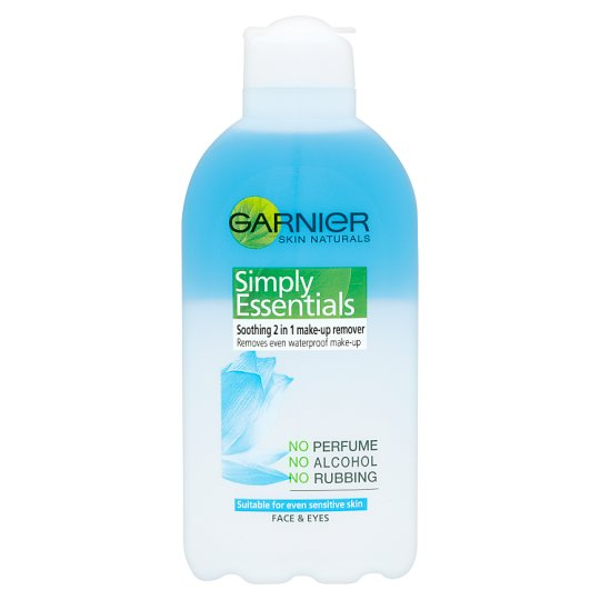 image 1 of Garnier Skin Naturals Soothing 2-In-1 Make Up Remover 200Ml