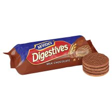 image 2 of Mcvities Milk Chocolate Digestive Biscuits 300G