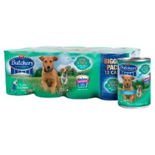 Butchers Lean And Tasty Tinned Dog Food 12 X400g