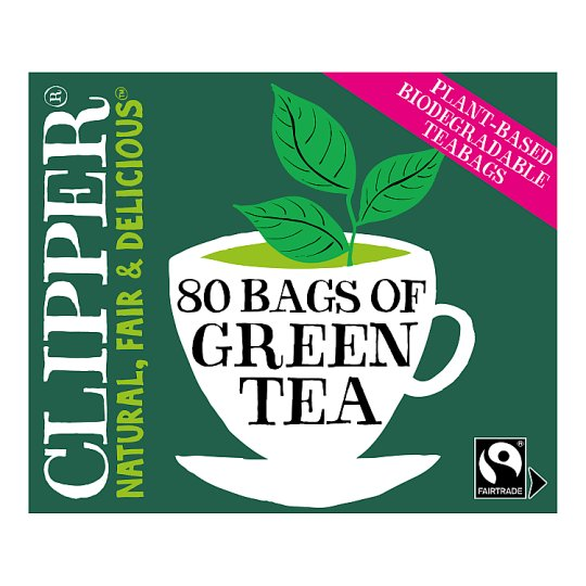 Clipper Tea Pure Green 80'S 160G