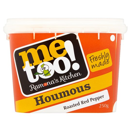 Me Too! Roasted Red Pepper Houmous 250G
