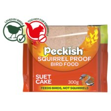 Peckish Squirrel Proof Suet Cake 300G