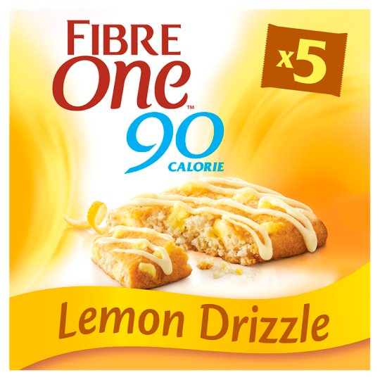 Fibre One Lemon Drizzle Bars 5 Pack 120G
