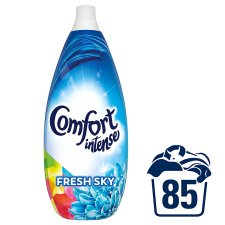 Comfort Intense Fresh Sky 85W Fabric Conditioner 1.275L