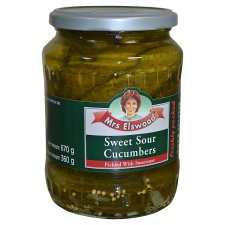 Mrs Elswood Sweet And Sour Cucumbers 670G