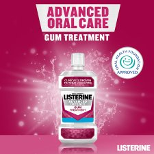 image 2 of Listerine Advanced Defence Gum Mouthwash 500Ml