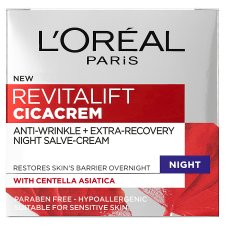 L'oreal Paris Revitalift Cica Anti-Aging Night Cream 50Ml
