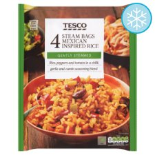 Tesco Micro Rice Mexican Inspired 4 X150g
