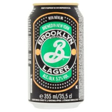 Brooklyn Lager Cans 355Ml