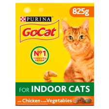 Go-Cat Indoor Chicken And Vegetables 825G