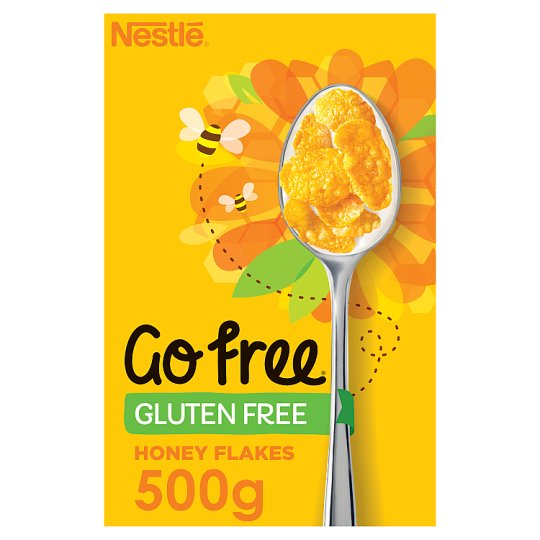 Nestle Gofree Honey Flakes Gluten Free Cereal 500G