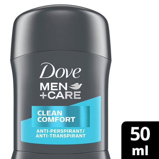 Dove Men+Care Clean Comfort Stick Antiperspirant Deodorant 50Ml