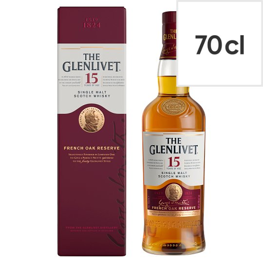 The Glenlivet 15 Year Old French Oak Reserve 70Cl