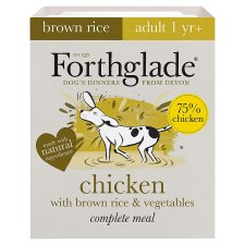 Forthglade Adult Dog Chicken Brown Rice And Vegetable 395G