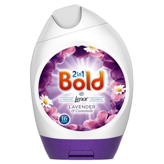 Bold Washing Gel Lavender And Camomile 16 Washes 592Ml