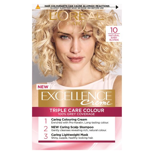 image 1 of L'oreal Paris Excellence 10 Baby Blonde