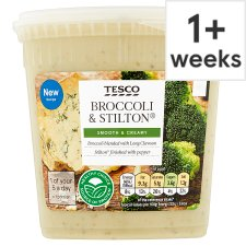 Tesco Broccoli And Stilton Soup 600G