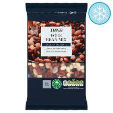 Tesco Four Bean Mix 400G
