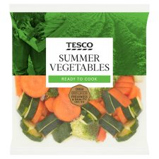 Tesco Summer Vegetables 480G