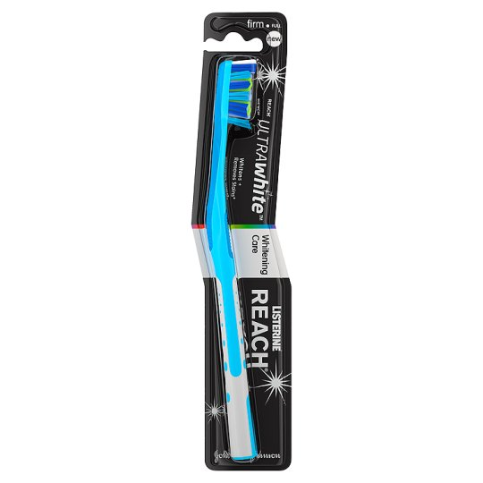 Listerine Reach Toothbrush Whitening Firm