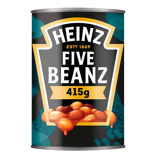 Heinz Five Beans In Tomato Sauce 415G