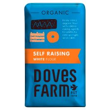 Doves Farm Organic White Self Raising Flour 1Kg
