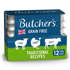 Butchers Traditional Recipe 12X150g Foiltray