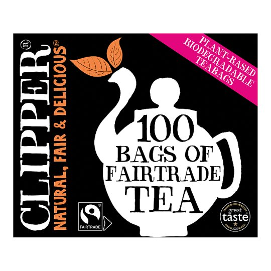 Clipper Fair Trade 100 Tea Bags