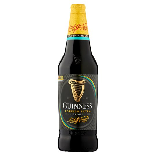 Guinness Nigerian Foreign Extra Stout 600Ml