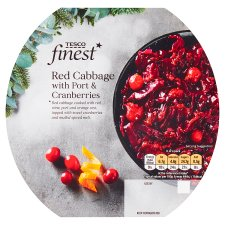 Tesco Finest Red Cabbage Port And Cranberry 250G