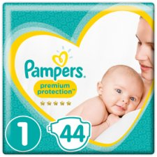 Pampers New Baby Size 1 Essential Pack 44 Nappies