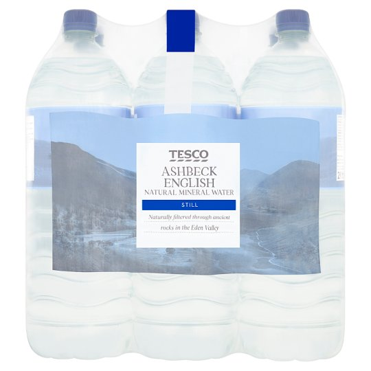 Plest analysis for tescos and water
